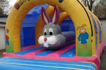 Camping bunny