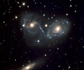 Galaxies espaces vect